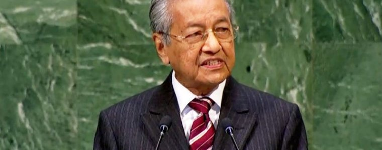 Malaysia's Dr Mahathir Mohamad at the UN General Assembly: Want to End Terrorism? Recognise Palestine and Stop Israeli Atrocities – Global Research