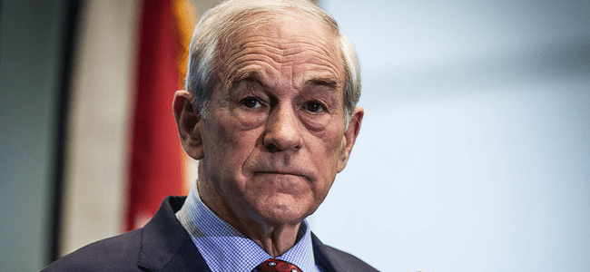 Ron Paul Warns A 50% Stock Market Decline Is Coming…And There's No Way To Stop It
