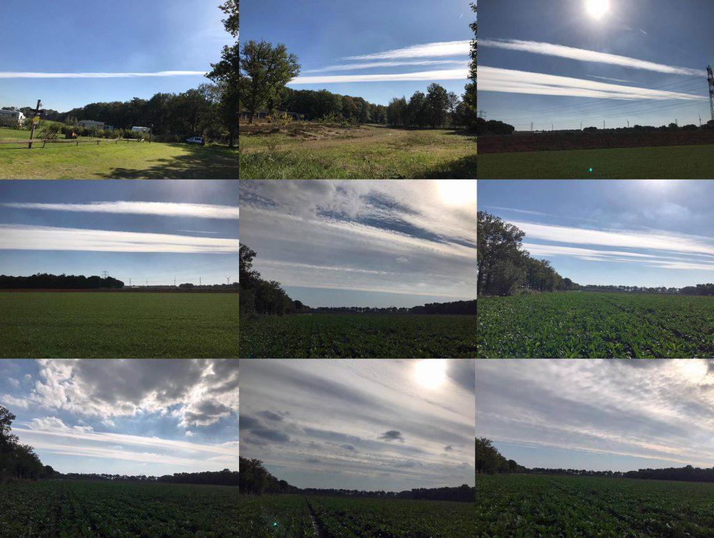 Opzienbarende fotoreeks: van chemtrail tot kunstmatige wolkenband