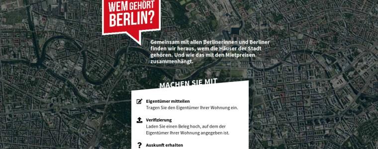 Crowdrecherche: Wem gehört Berlin?