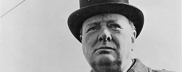 Winston Churchill's Perverse Place in the American Imagination