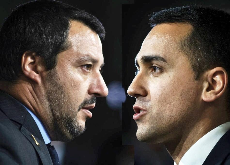 Salvini scoort in match Brussel-Rome   Uitpers