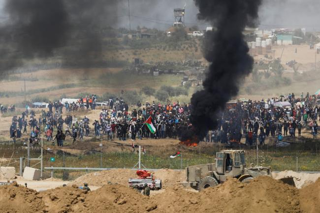 "Israel's Defense Chief Says ""No Choice But War"" As Forces Build Along Gaza Border"
