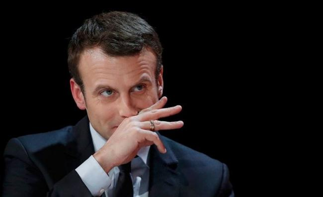 Macron Squirms When Asked About France-Saudi Arms Sales