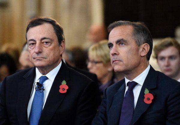 Draghi warnt vor politischer Einflussnahme auf Zentralbanken