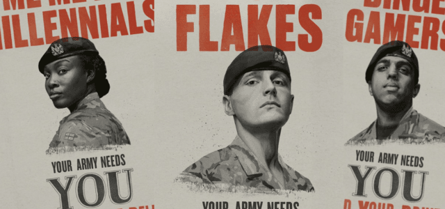"""91024fb4a27c British Army Seeks """"Snowflakes"""" And """"Selfie Addicts"""" As Recruitment Numbers  Slide"""