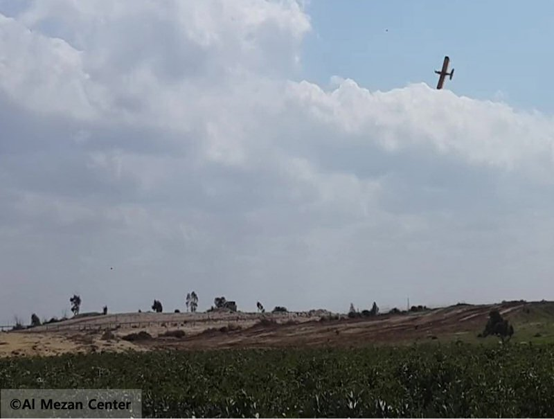 human-rights-defenders-call-out-israel-on-dangerous-herbicides-sprayed-over-gaza-8211-global-research