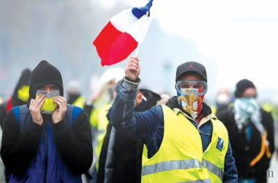 video-yellow-vest-protest-in-paris-act-xii-8211-global-research