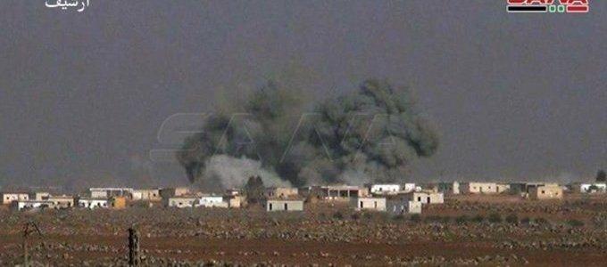 nato-terrorists-bomb-syrian-towns,-saa-bombs-nato-terrorists