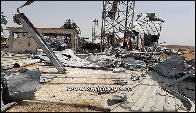 nato-terrorists-destroy-grain-silos-before-withdrawal-from-tal-al-sakhr