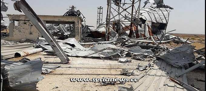 nato-terrorists-destroy-grain-silos-before-withdrawal-from-tal-al-sakhr