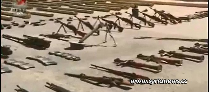 ctu-unearths-massive-quantities-of-weapons-and-munition-in-southern-syria