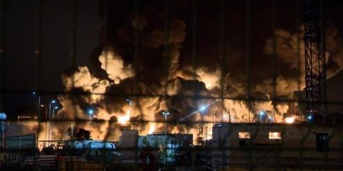 frankreich:-unbekannte-auswirkungen-nach-brand-in-chemiefabrik