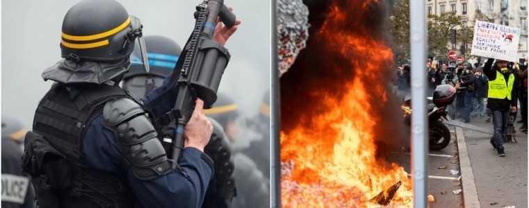 icymi:-yellow-vests'-anniversary-marked-with-barricades,-militarized-police-&-furious-protesters