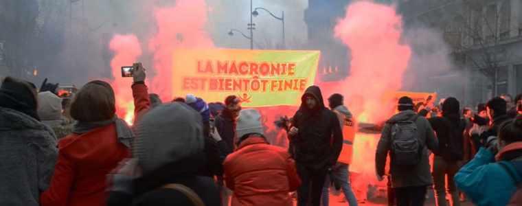 gelbwesten-in-frankreich:-weitere-streiks-und-proteste