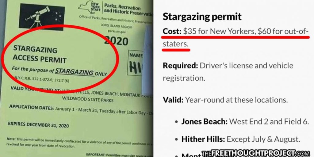 """state-forces-citizens-to-pay-for-""""stargazing-permit""""-to-view-night-sky-in-public-parks—yes,-really-–-activist-post"""