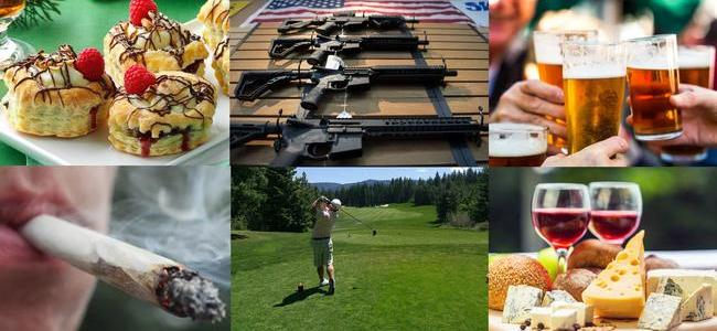"""what-is-really-essential""?-in-the-us-golf-and-guns,-in-france-wine-and-pastries"