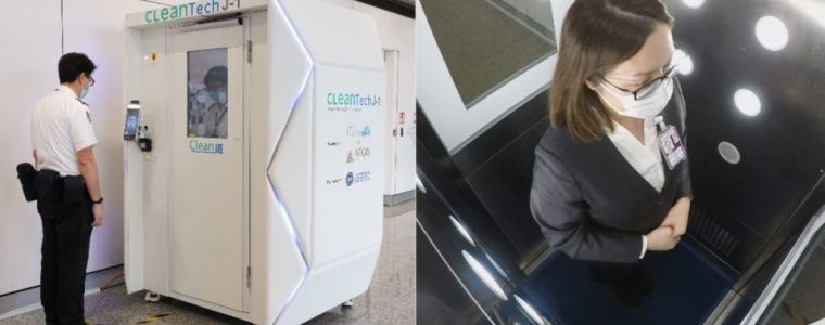 hong-kong-airport-rolls-out-cleaning-robots-and-full-body-disinfection-booths-–-activist-post