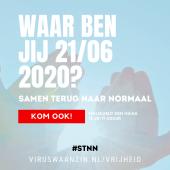 'initiatiefnemers-viruswaanzin.nl-organiseren-demonstratie-'samen-terug-naar-normaal'-–-viruswaanzin