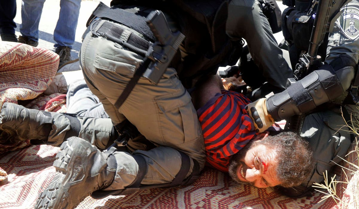 israelis'-shock-at-police-violence-at-anti-netanyahu-protests-is-quite-shocking-|-opinion