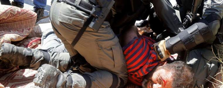 israelis'-shock-at-police-violence-at-anti-netanyahu-protests-is-quite-shocking- -opinion
