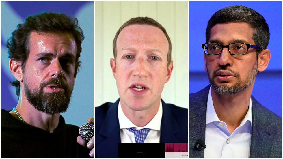 a-bit-too-late?-senate-committee-to-grill-google,-facebook-&-twitter-ceos-on-'domination-&-legal-liability'-days-before-election