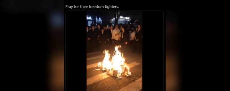brooklyn's-orthodox-jews-burn-masks-in-uprising-against-gov.-cuomo's-new-anti-covid-synagogue-occupancy-restrictions-(videos)