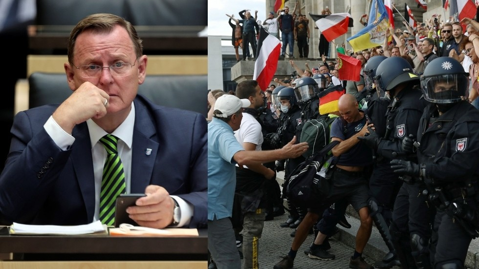 anti-lockdown-protesters-are-becoming-'terrorists,'-claims-head-of-german-state-of-thuringia