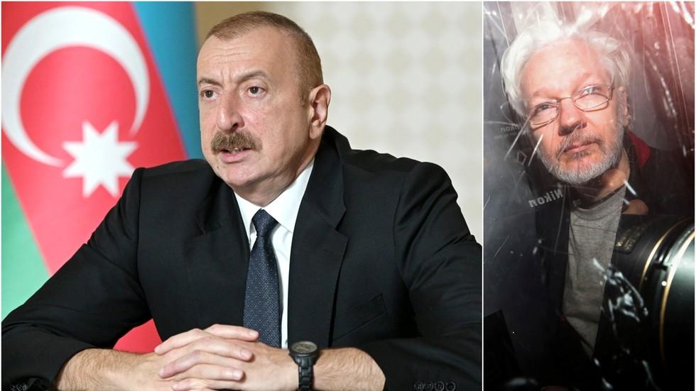 'you-talk-like-a-prosecutor':-azerbaijani-president-aliyev-nails-bbc-journalist-on-'media-freedom'-by-bringing-up-assange