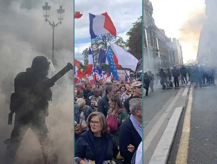 gewelddadige-scenes-in-frankrijk-–-politie-en-demonstranten-vechten-vanwege-vaccinpassen
