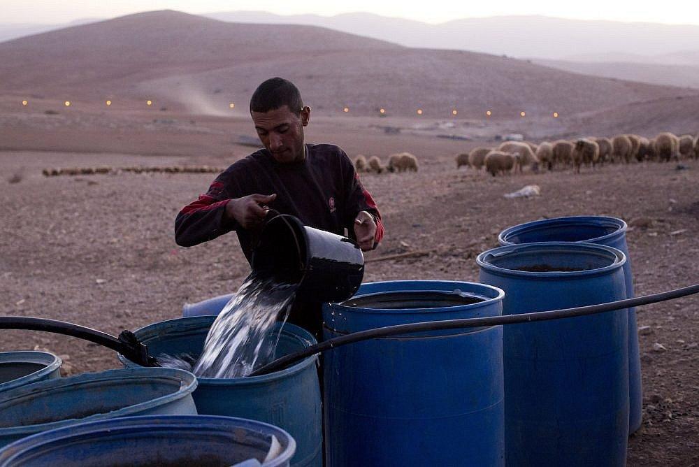 de-wreedheid-van-het-ontzeggen-van-water-aan-palestijnen-in-de-zuidelijke-hebron-hills