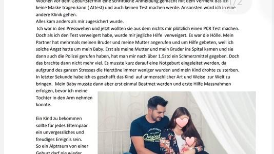 oproep-voor-donaties:-voor-de-jonge-moeder-die-bij-de-geboorte-in-het-frauenfeld-ziekenhuis-tot-een-pcr-test-werd-gedwongen-en-bijna-haar-kind-verloor