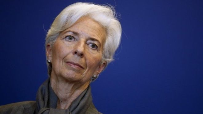 Christine Lagarde on Greek debt restructuring agreement