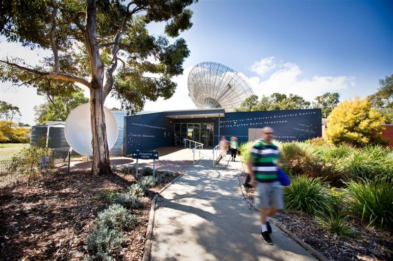 Parkes Observatory Visitors Centre. Credit: CSIRO