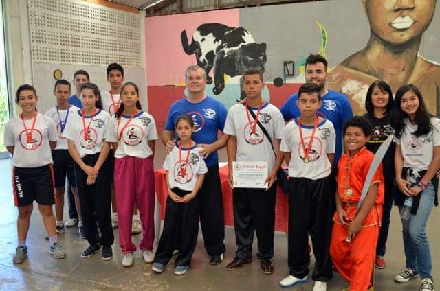 Festival Municipal de Kung Fu – Geada, Limeira SP