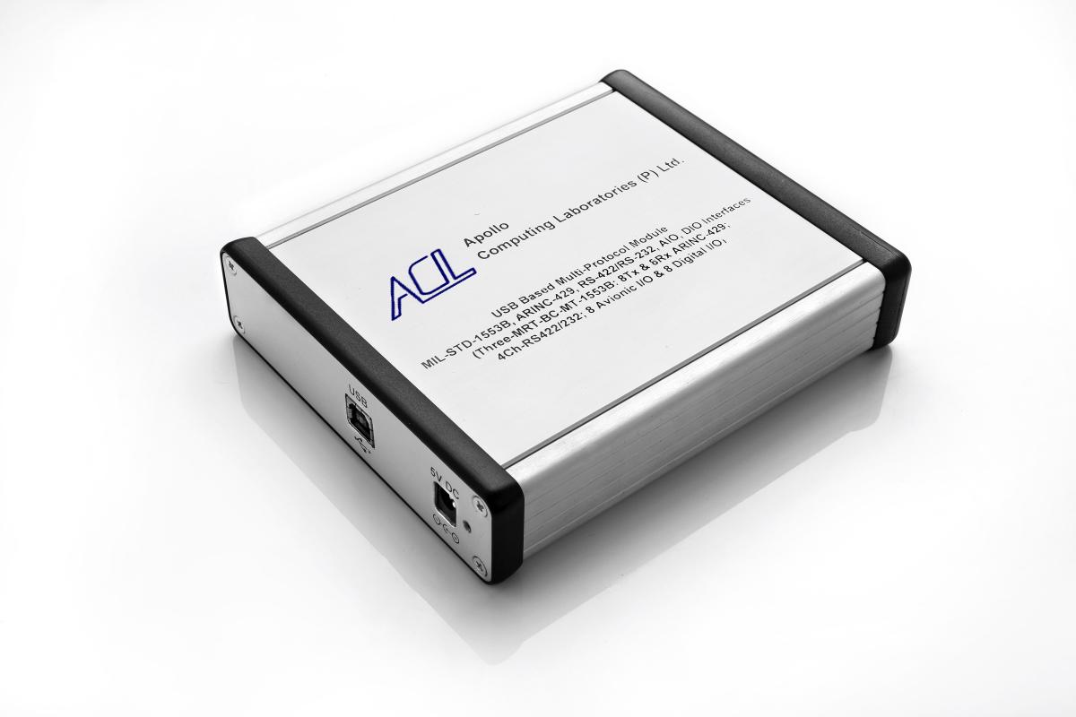 hight resolution of usb based multi protocol module providing mil std 1553b can arinc 825 interfaces