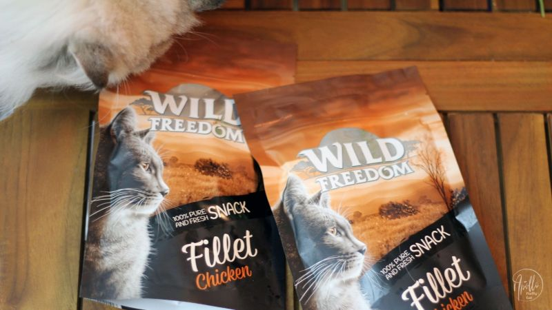 Review: Wild Freedom Filet Snacks treats for cats