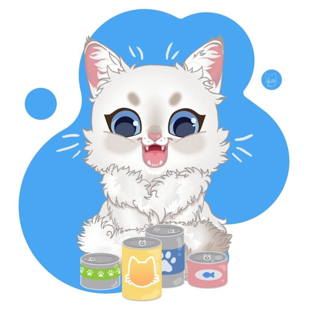 Kalkulator karm dla kotów