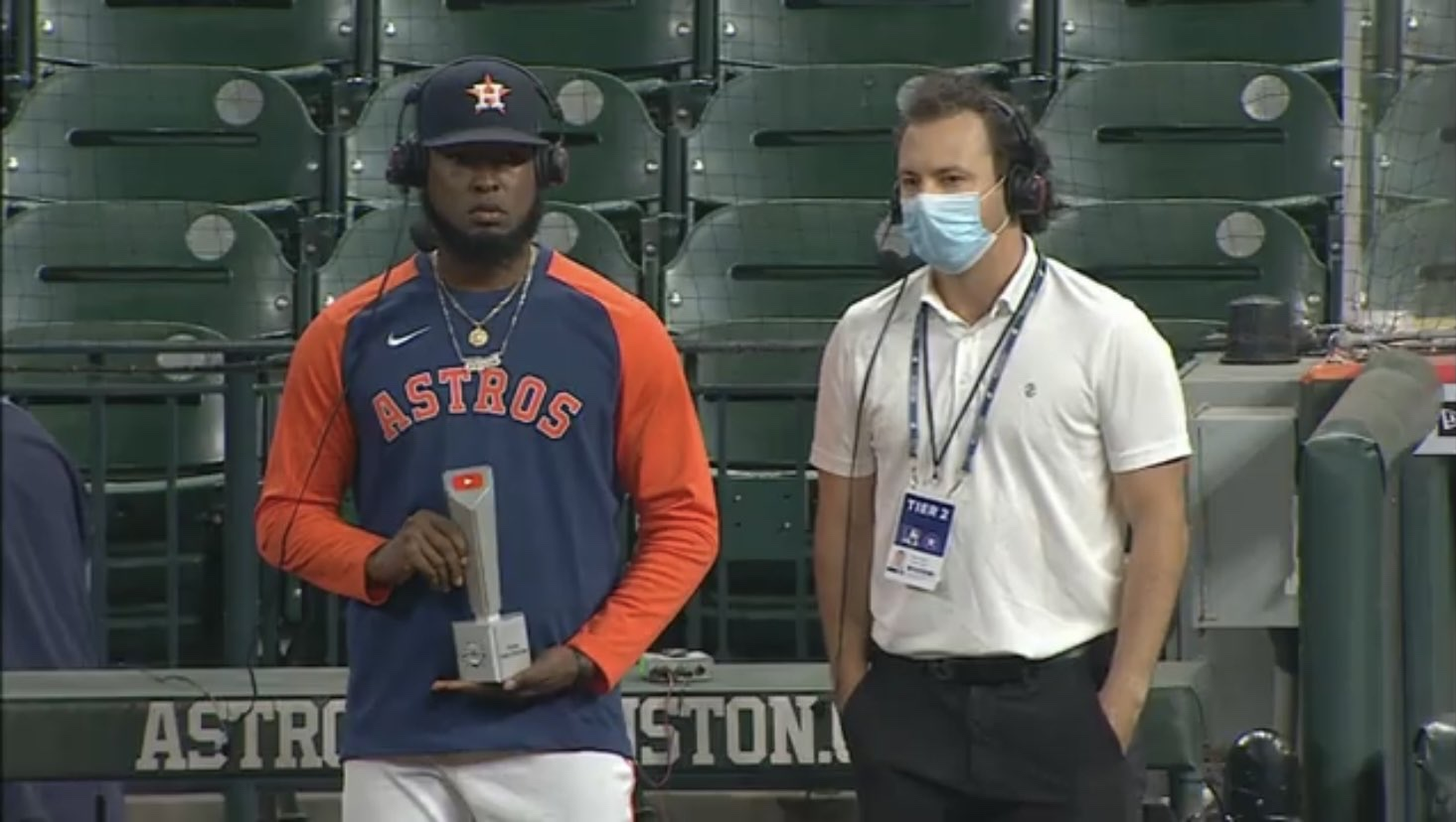 HOUSTON ASTROS ARE THE YOUTUBE SERIES CHAMPIONS