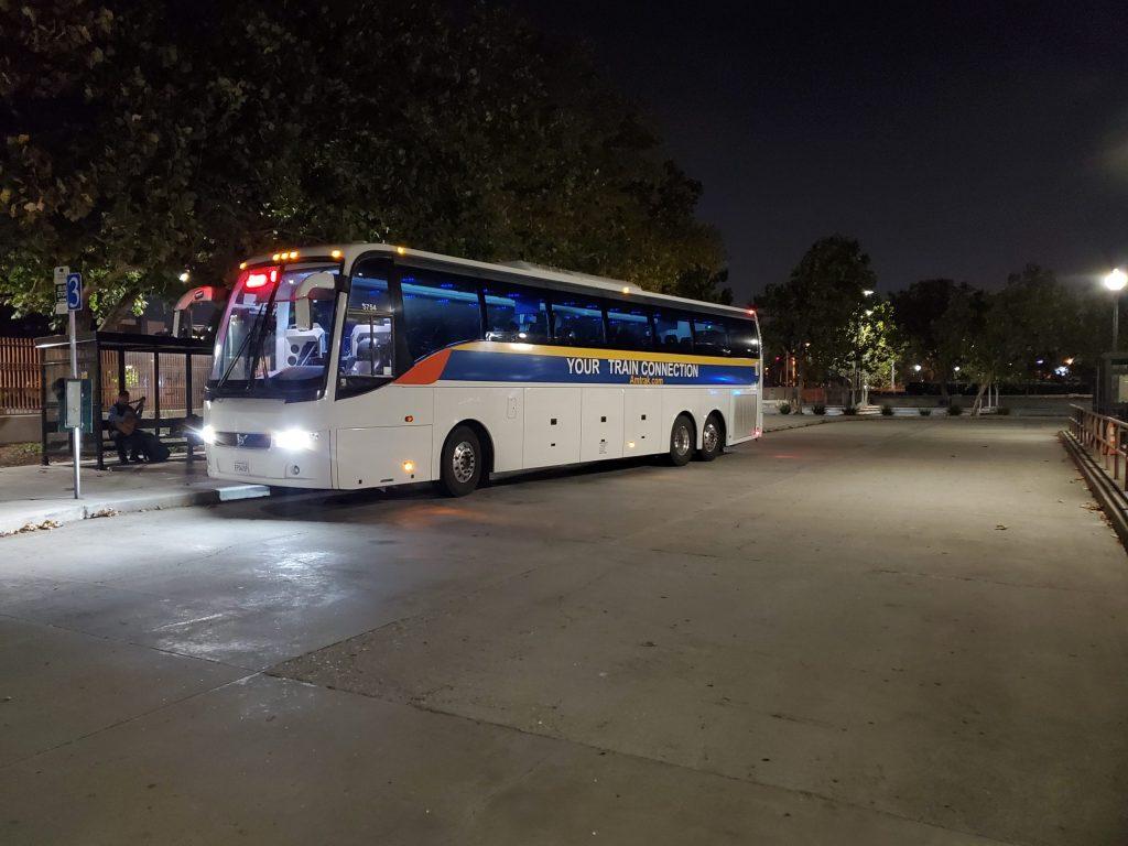 Bus to Santa Barbara