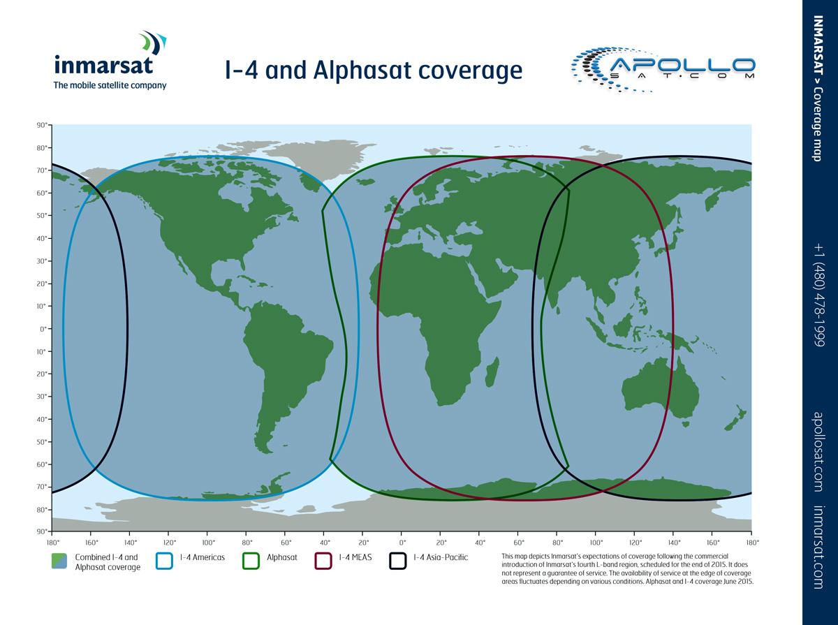 How to dial a satellite phone? Iridium Inmarsat Globalstar Thuraya coverage maps