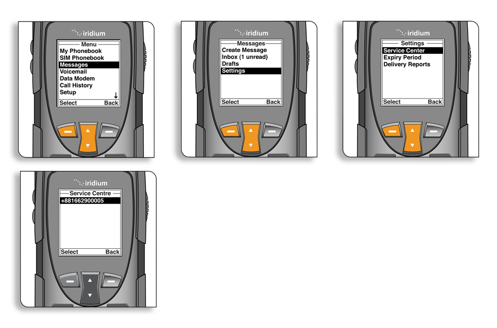 Iridium 9555 Satellite Phone Quick Start Guide — Apollo