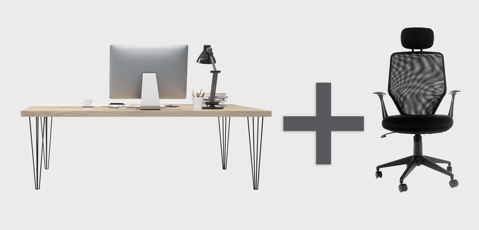 desk plus chair