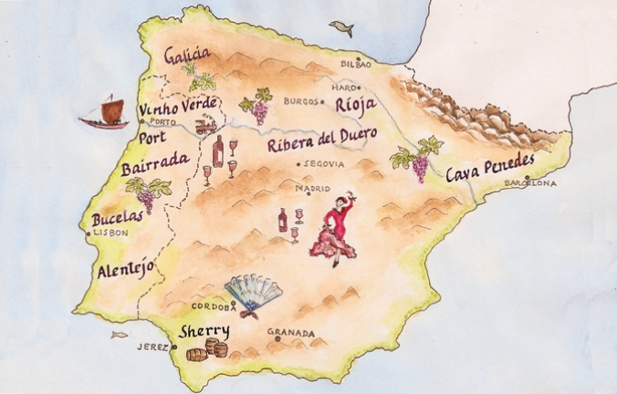 Great White Wines of Spain