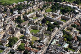 aerial photograph of Oxford by webbaviationaerial photograph of Oxford England UK