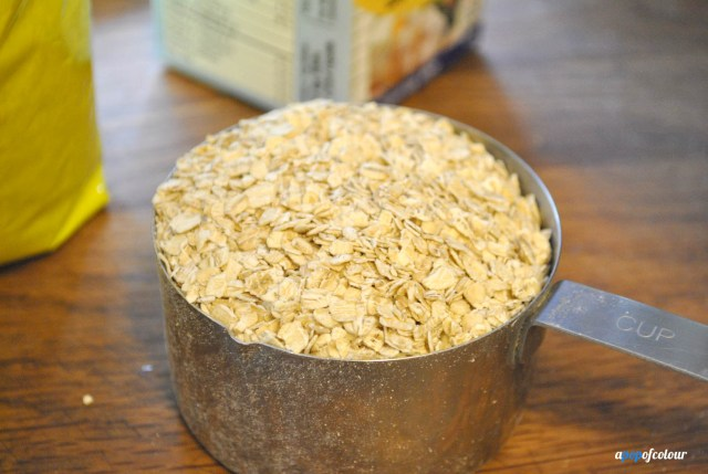 cup of oats