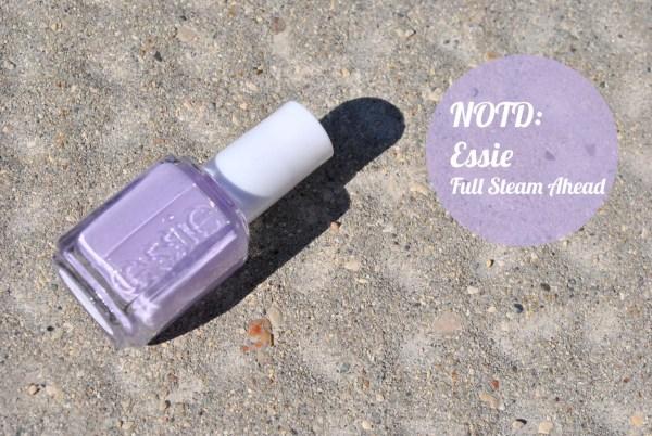 Notd Essie Full Steam - Pop Of Colour