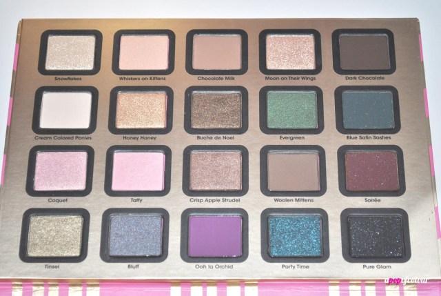 eyeshadow colours
