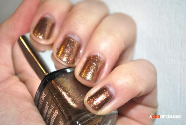 swatch seared bronze