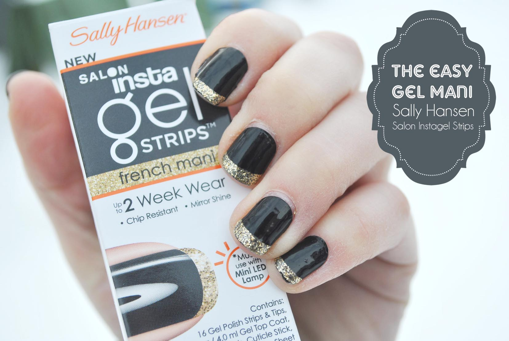 The Easy Gel Mani Sally Hansen Insel Strips Giveaway